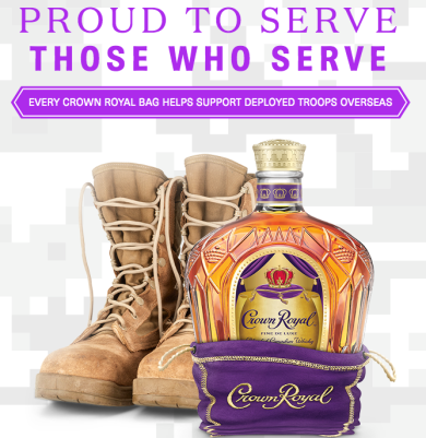 Crown Royal Military Care Package