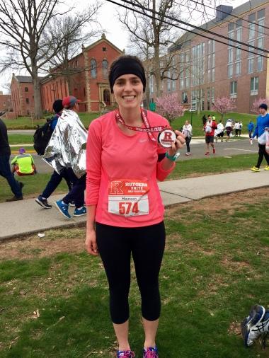 Rutgers Unite Half Marathon 2018 Finisher Picture