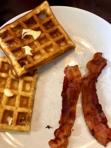 Waffles and Bacon